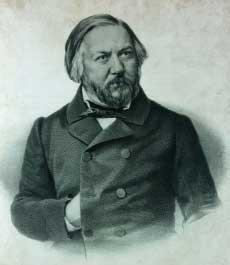 Глинка, литография 1856 года