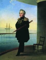 Айвазовский был представлен Михаилу Лазареву