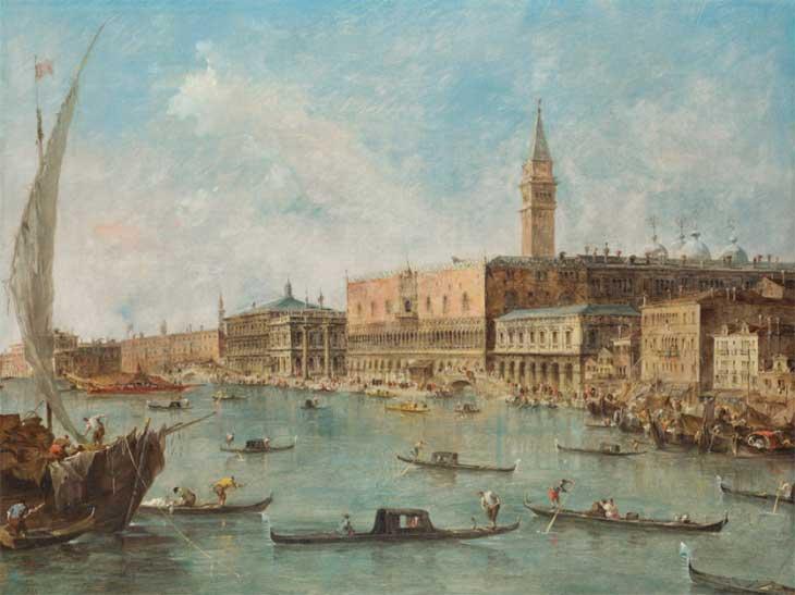 Дворец дожей, Венеция XVIII век