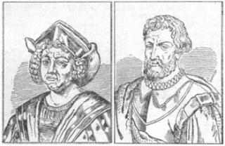 Фернан Магеллан и Христофор Колумб