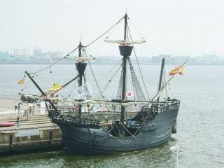 Модель магеллановского корабля  Виктория