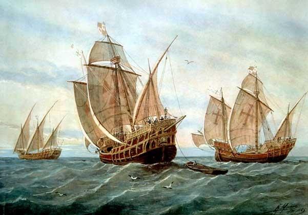 Каравеллы первой экспедиции Колумба