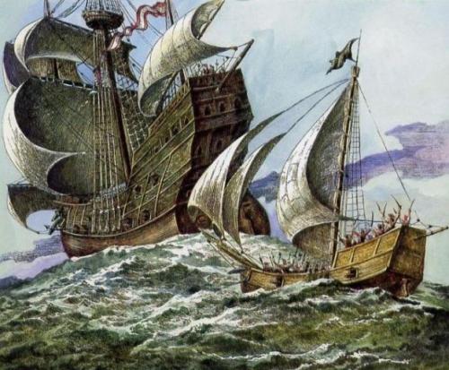Корабли магелановой эскадры