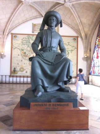 Памятник Генриху Мореплавателю в Морском музее г. Лиссабон
