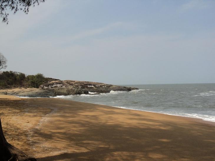 Побережье Каппад, где высадился Васко да Гама (недалеко от Калькут)