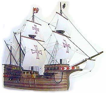 Модель корабля своими руками santisima trinidad