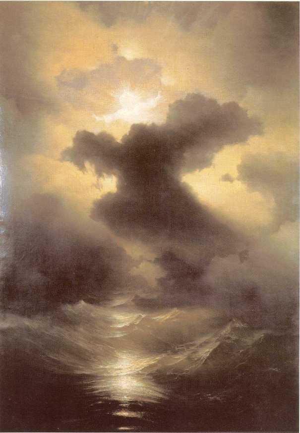 """Картина """"Хаос"""", 1841 год, подарена Папе Римскому Григорию XVI"""