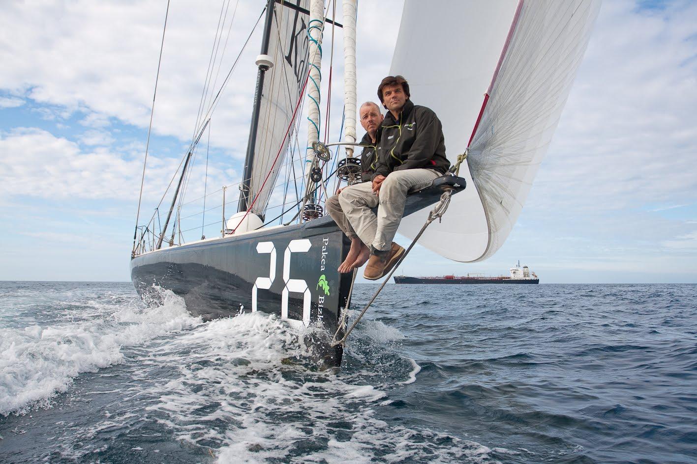 Яхта IMOCA Open 60.