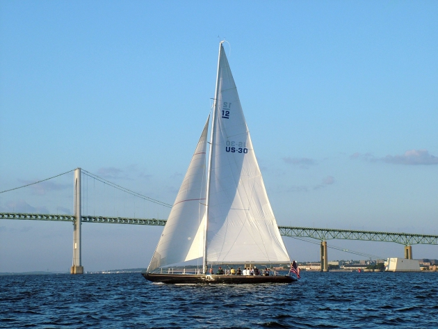 Яхта Freedom, опередившая австралийцев в 1980 году.