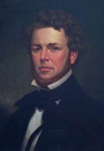 """Джордж Стирс - на его верфях была построена легендарная шхуна """"America""""."""