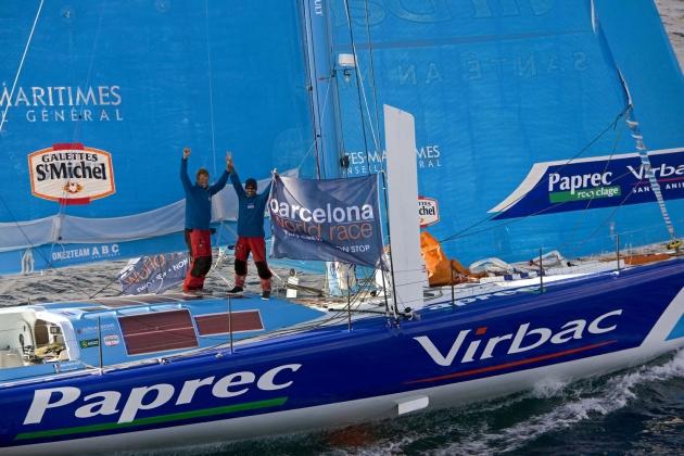 Победители регаты Barcelona World Race - настоящие легенды яхтенного мира.