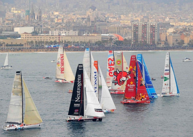 Старт Barcelona World Race 2010/11