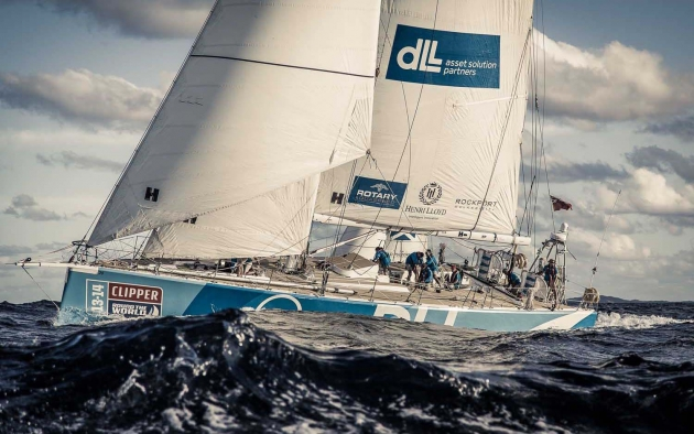 Яхта-участник Clipper Round the World Yacht Race 13/14.