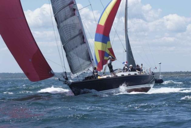Яхта-участник Bermuda race.