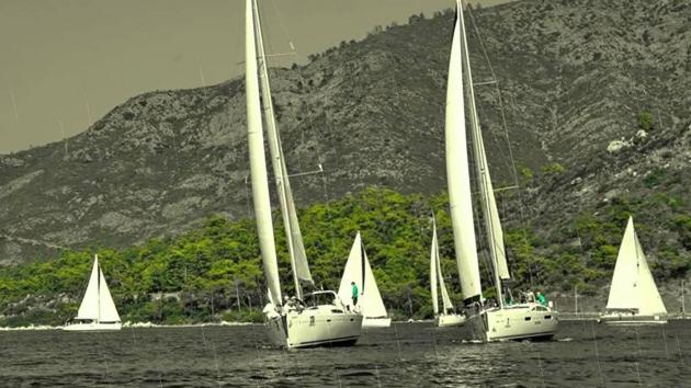 Прибрежная регата в рамках Marmaris Internetional Racing Week.