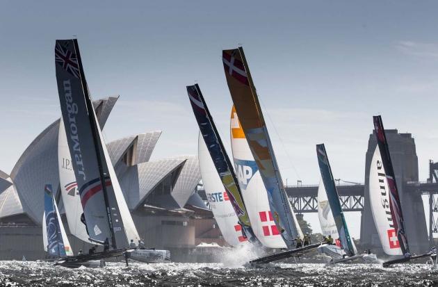 Сиднейский этап EXtreme Sailing Series.