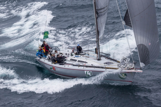 Яхта Wild Rose, победитель в дивизионе IRC 4.