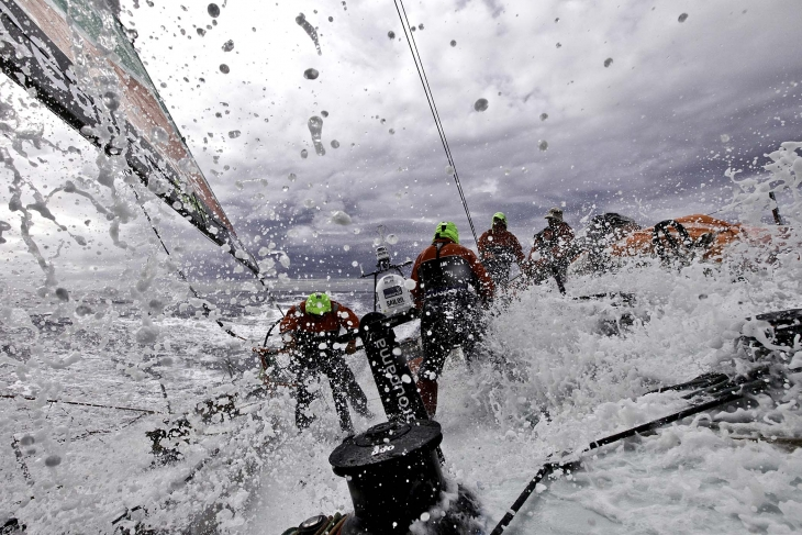 Условия на яхтах непростые