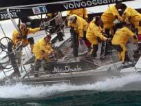 Яхта быстра и сложна в управлении