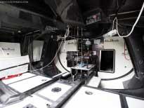 Внутри яхты команды Абу-Даби, ставшей лучшей в 2009 году