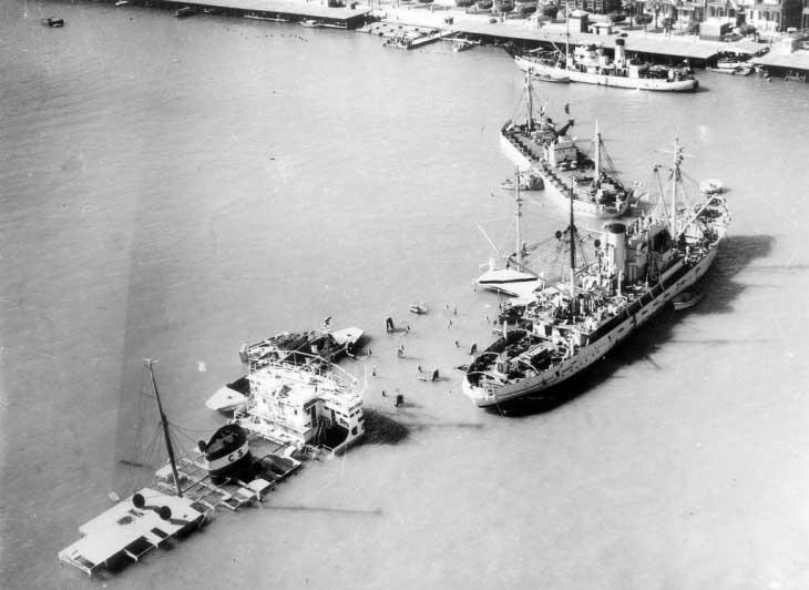 Затопленные в Суэцком канале суда, 1957 год. Один из символов конфликта