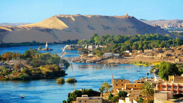 Река Нил. Современное фото