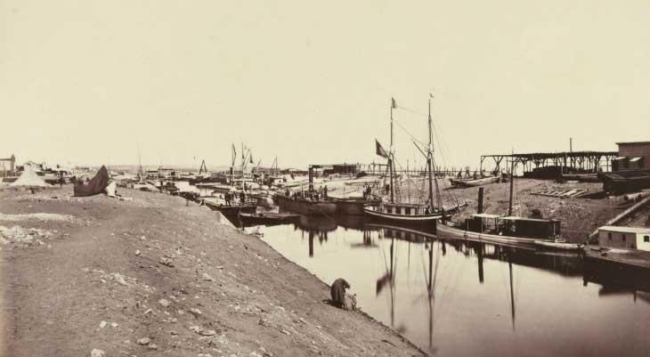 Суэцкий канал - период строительства