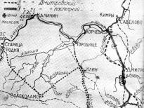 Варианты проектов постройки канала, соединяющего Москву с Волгой