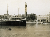Маяк в Порт-Саиде. Начало 20 века