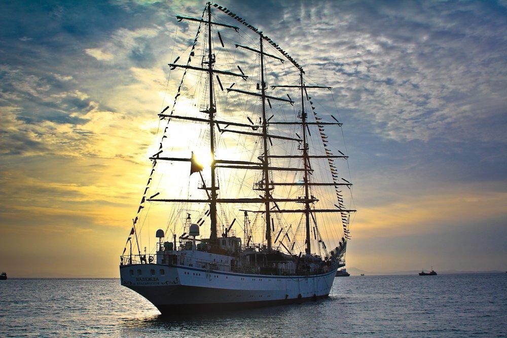фрегат корабль фото