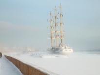 Российское судно Мир