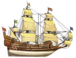 корабль La Couronne