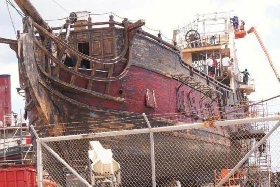 корабль Месть королевы Анны