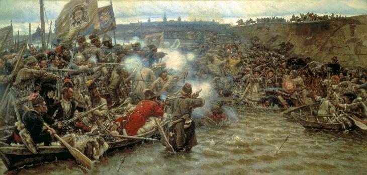 Ермак активно использовал речной флот