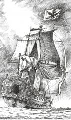 корабль Полтава