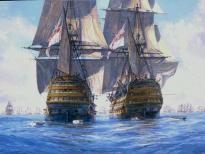 корабль Виктори и Темерер