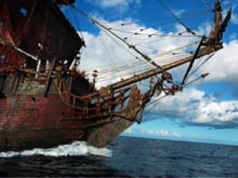 «Месть королевы Анны» — флагманский корабль Чёрной Бороды