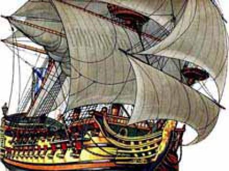 «Ингерманланд» лучший линейный корабль Петра I