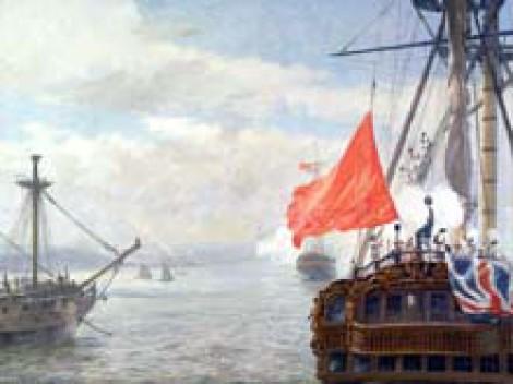 Массовый корабельный мятеж в Норе 1797 года