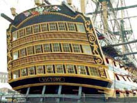 Корабль «Виктори» флагман британского флота
