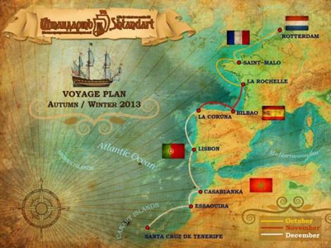 Фрегат Штандарт: вылазка в океан