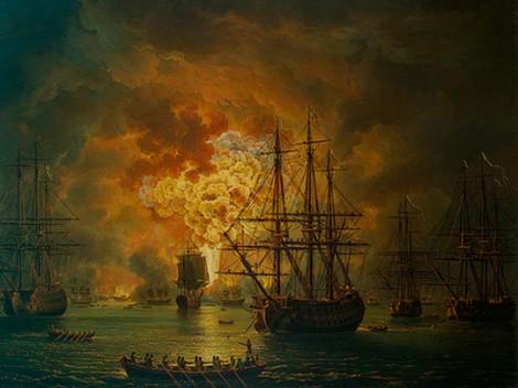 Чесменское морское сражение