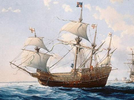 Корабль «Mary Rose» («Мэри Роуз») первый гигант Генриха VIII