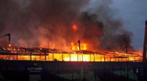 Пожар на клипере Катти Сарк
