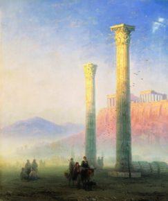 Картина Афинский Акрополь, 1883 год