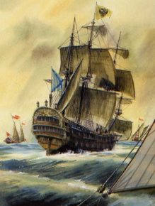 корабль Ингерманланд