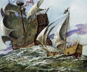 Корабли магеллановой эскадры