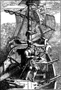 Магеллан на своём корабле Тринидад