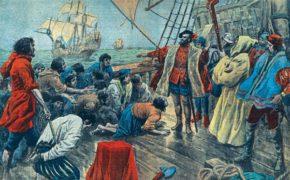 Разбирательство с бунтовщиками перед первым кругосветным путешествием Магеллана
