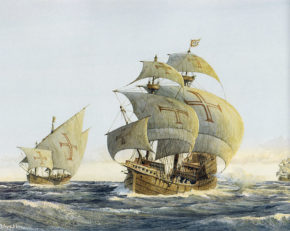 Корабли эскадры Васко да Гаммы